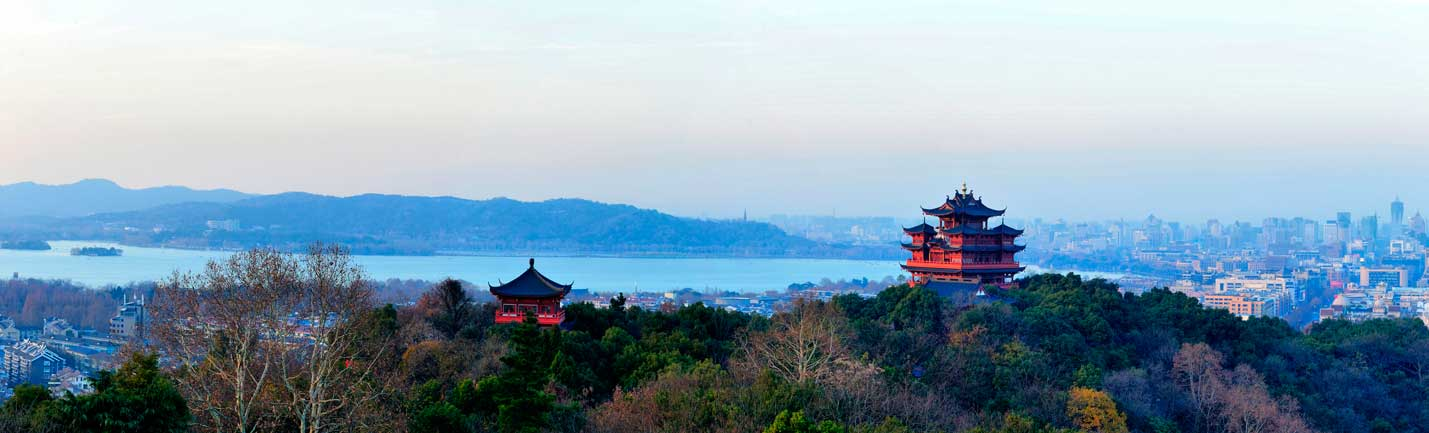 Hangzhou is the capital and the largest city of the Zhejiang province.