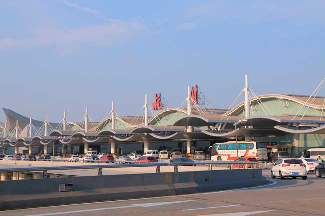Hangzhou Airport is the major and single international airport serving the Chinese city of Hangzhou.